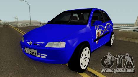Chevrolet Celta With Paint Jobs for GTA San Andreas upper view