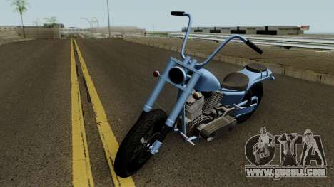 Western Motorcycle Daemon GTA V for GTA San Andreas