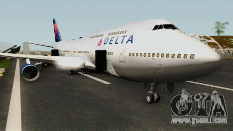 Delta Air Lines Boeing 747-400 for GTA San Andreas
