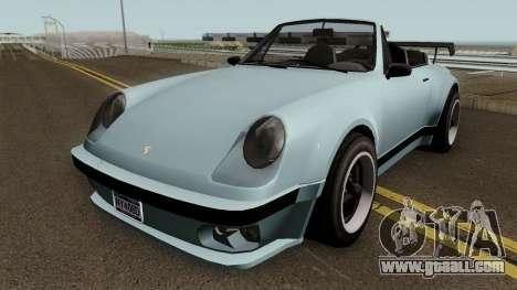 Porsche 911 Carrera Turbo (Comet Style) v1.1980 for GTA San Andreas