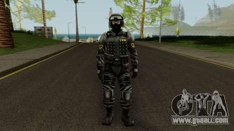 TEK Skin 3 for GTA San Andreas second screenshot
