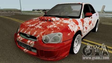 Subaru SuBloody Impreza for GTA San Andreas