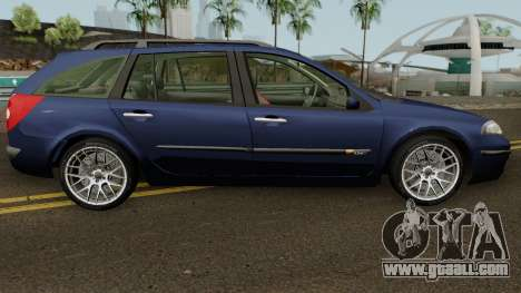 Renault Laguna Mk2 SW Facelift for GTA San Andreas back view