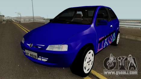 Chevrolet Celta With Paint Jobs for GTA San Andreas bottom view