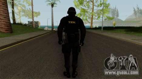 TEK Skin 2 for GTA San Andreas