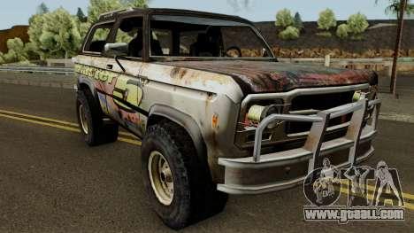 Flatout 2 Blaster XL for GTA San Andreas