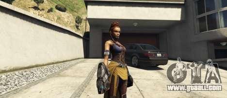 GTA 5 Shuri (Black Panther)