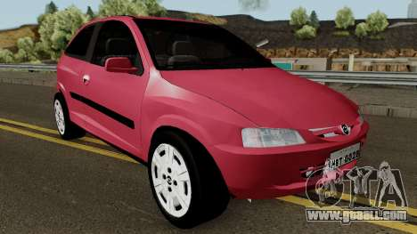 Chevrolet Celta With Paint Jobs for GTA San Andreas inner view