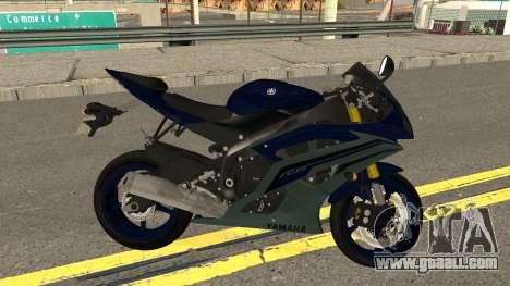 Yamaha YZF R6 2016 for GTA San Andreas