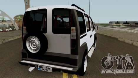 Fiat Doblo 2005 for GTA San Andreas right view