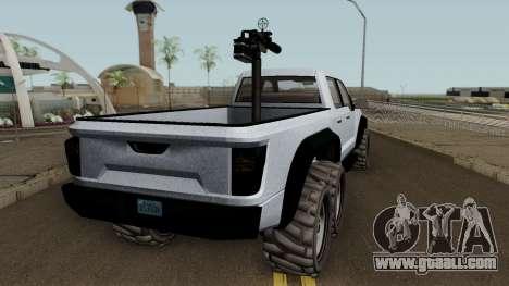 Vapid Caracara GTA V for GTA San Andreas