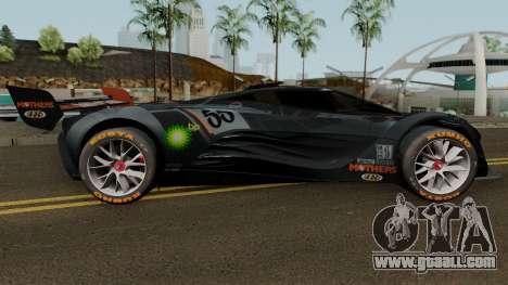 Mazda Furai 2008 for GTA San Andreas back view