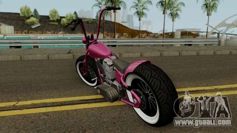 Western Motorcycle Zombie Bobber GTA V for GTA San Andreas