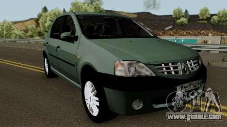 Renault Tondar 90 (Iranian) for GTA San Andreas inner view
