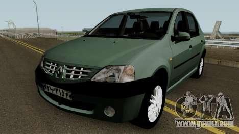Renault Tondar 90 (Iranian) for GTA San Andreas