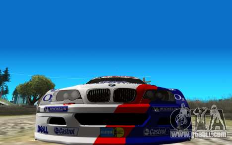 BMW M3 GTR for GTA San Andreas