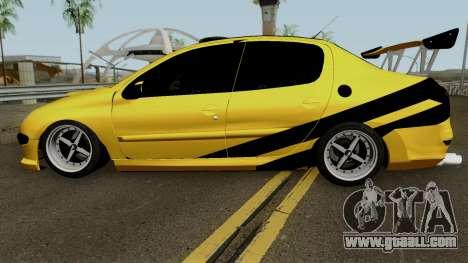 Peugeot 206 Sandogdar Full Sport Iran for GTA San Andreas