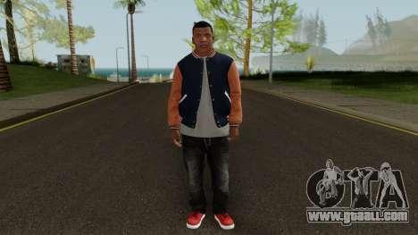 Skin Franklin V2 GTA V for GTA San Andreas