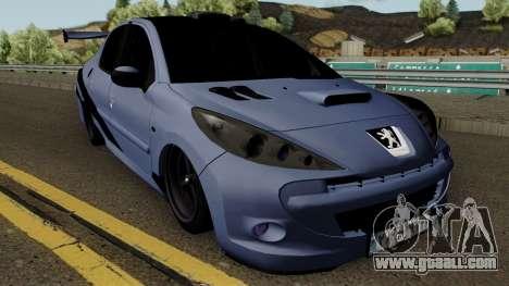 Peugeot 207 Sandogdar - Full Sport Iran for GTA San Andreas inner view
