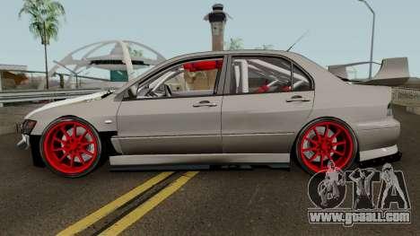 Mitsubishi Evo (DRIFT TUNING) for GTA San Andreas left view