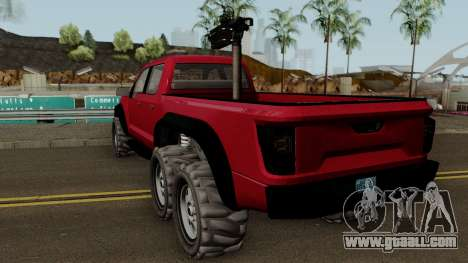 Vapid Caracara GTA V IVF for GTA San Andreas
