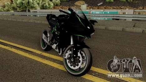 Kawasaki Ninja H2R 2015 for GTA San Andreas