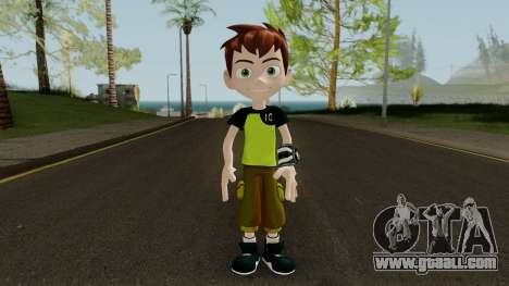 Ben 10 Rebot Skin for GTA San Andreas second screenshot