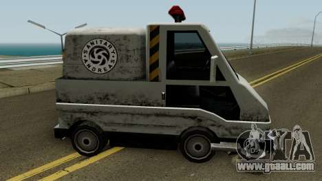 Sweeper IVF for GTA San Andreas