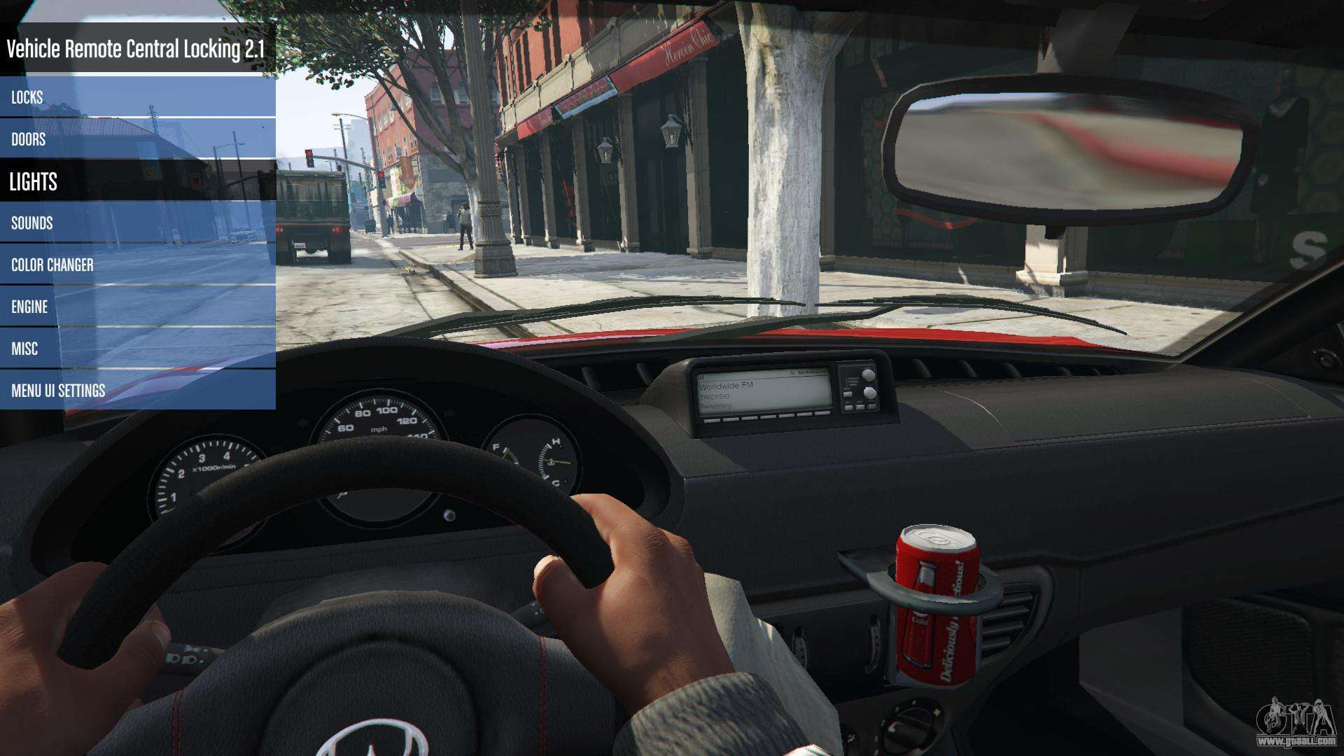 Vehicle Remote Central Locking 2 1 1 for GTA 5