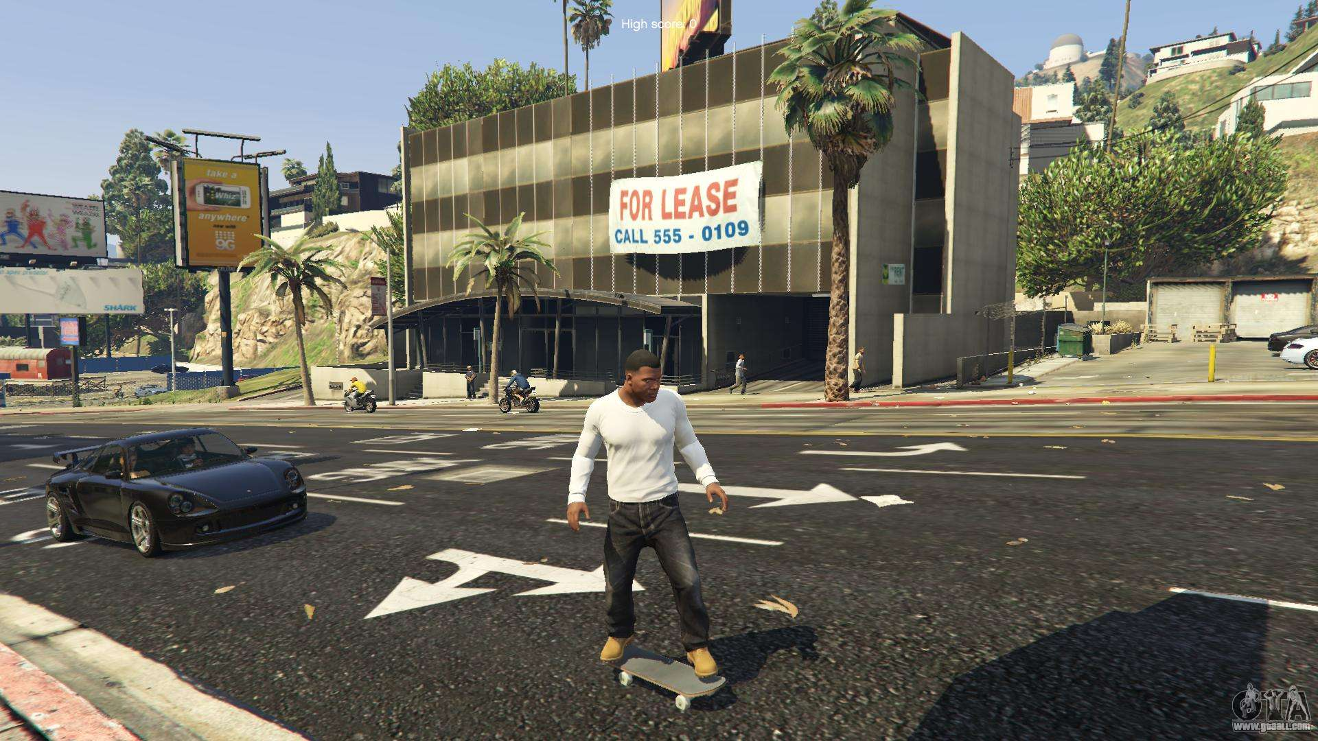 how to ride a skateboard in gta 5