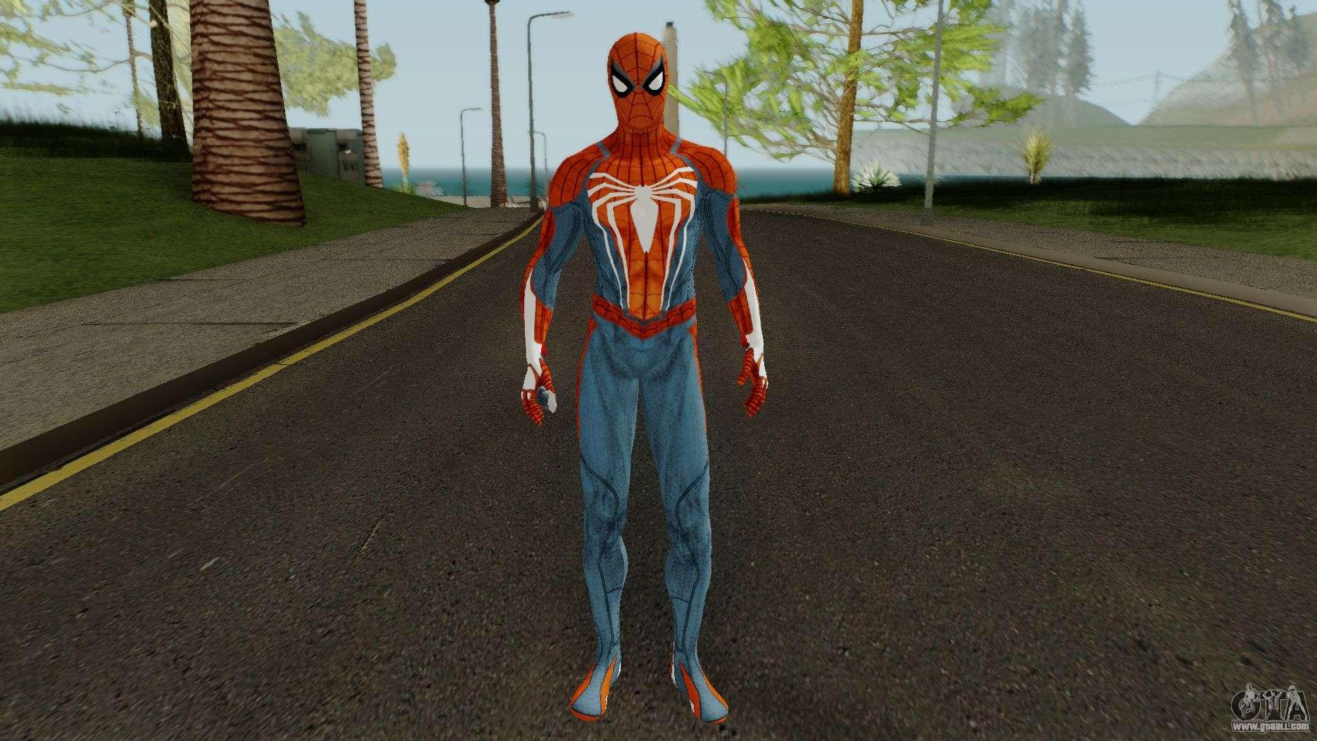 Spider-Man PS4 Standart Skin for GTA San Andreas