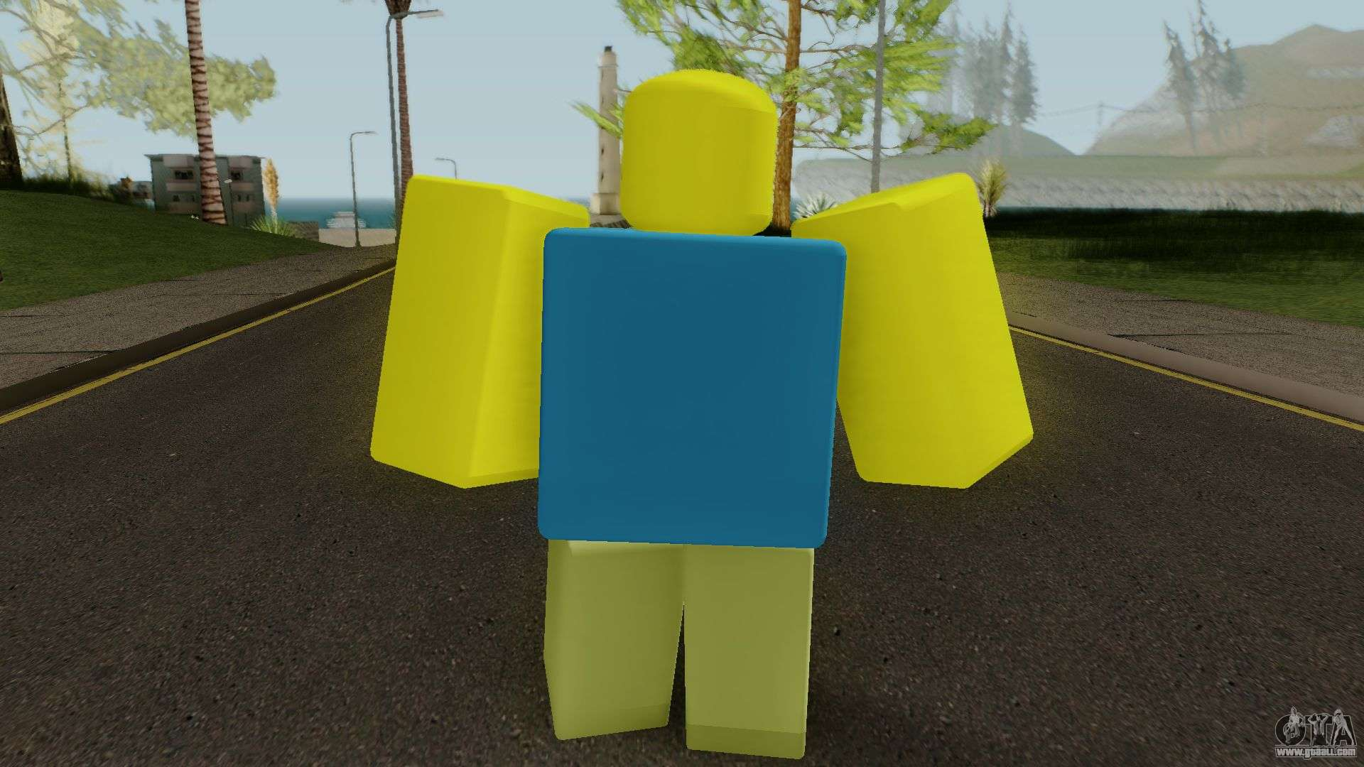 Roblox Default Character For Gta San Andreas