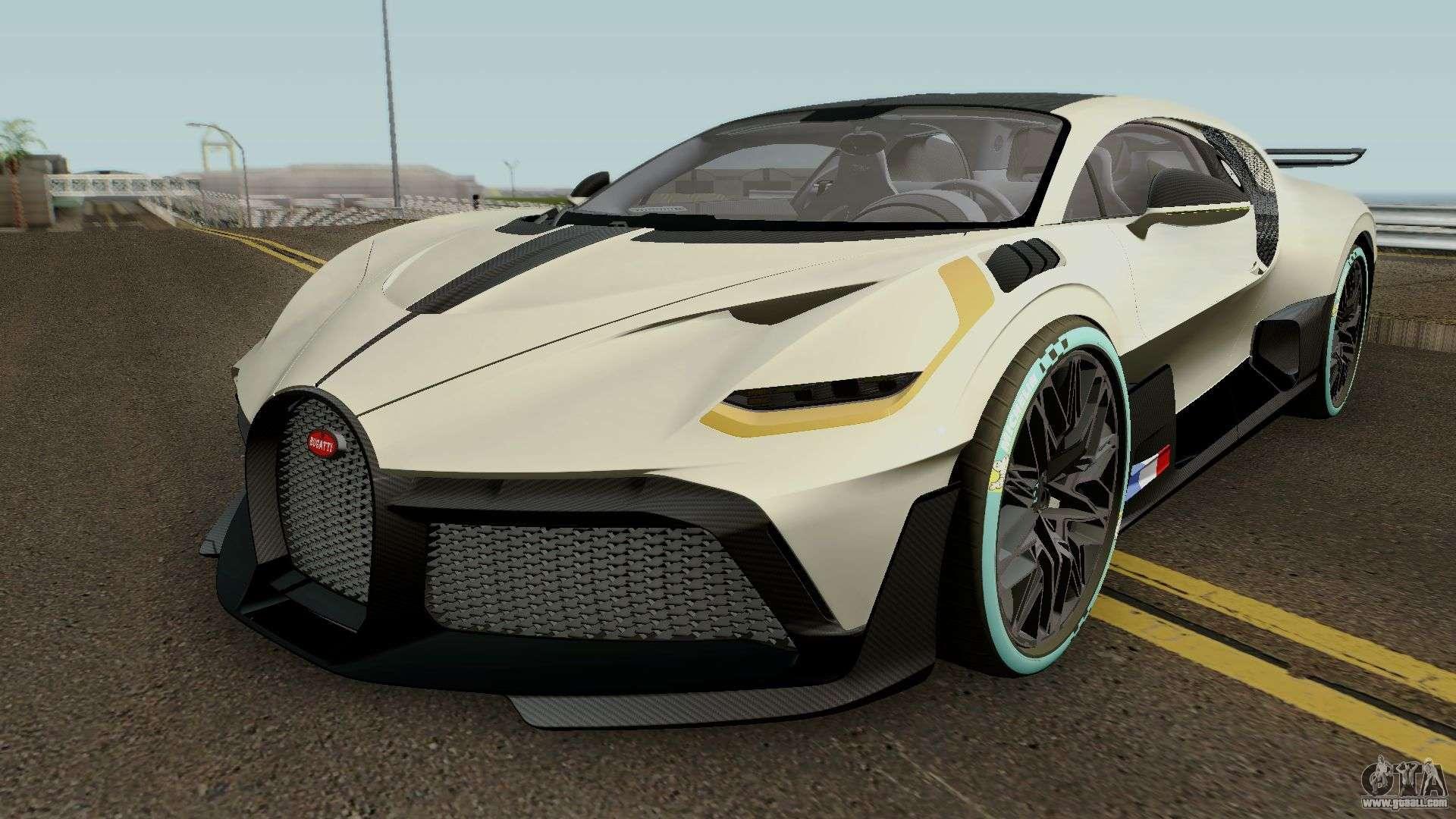 Bugatti Divo 2019 HQ for GTA San Andreas Bugatti Divo