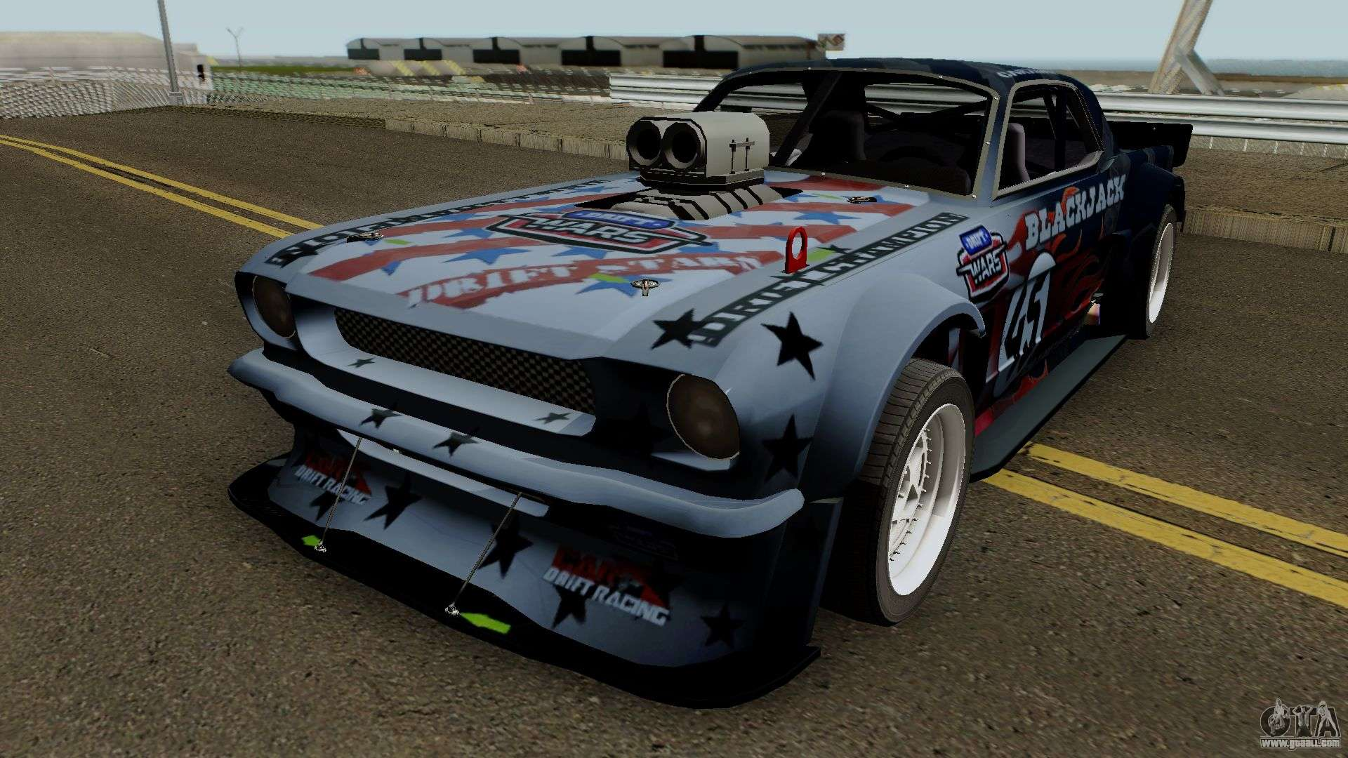ford mustang hoonicorn liberty 1965 for gta san andreas. Black Bedroom Furniture Sets. Home Design Ideas