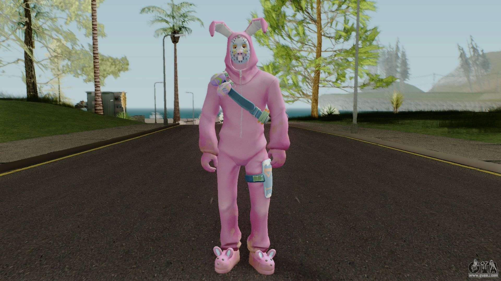 Fortnite Rabbit Raider For Gta San Andreas