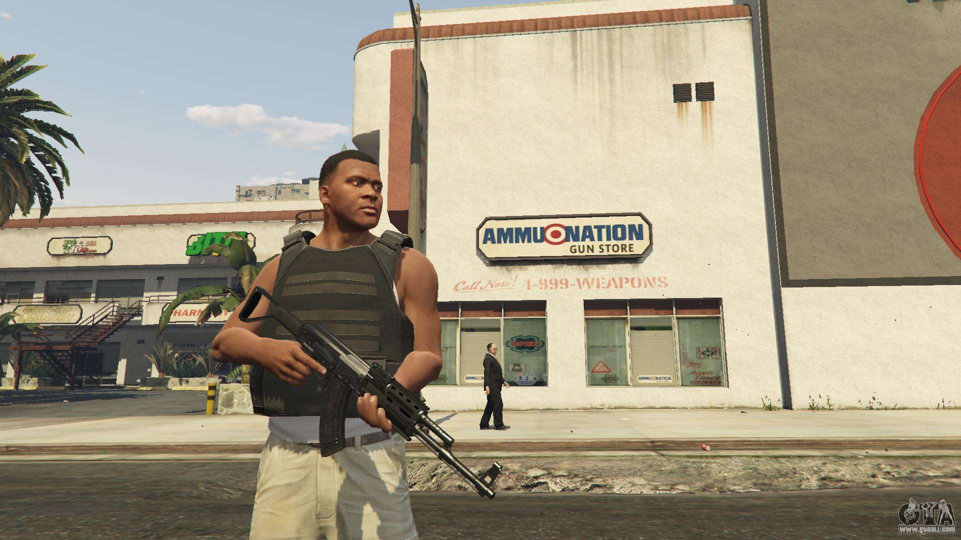 gta 5 gun store not working
