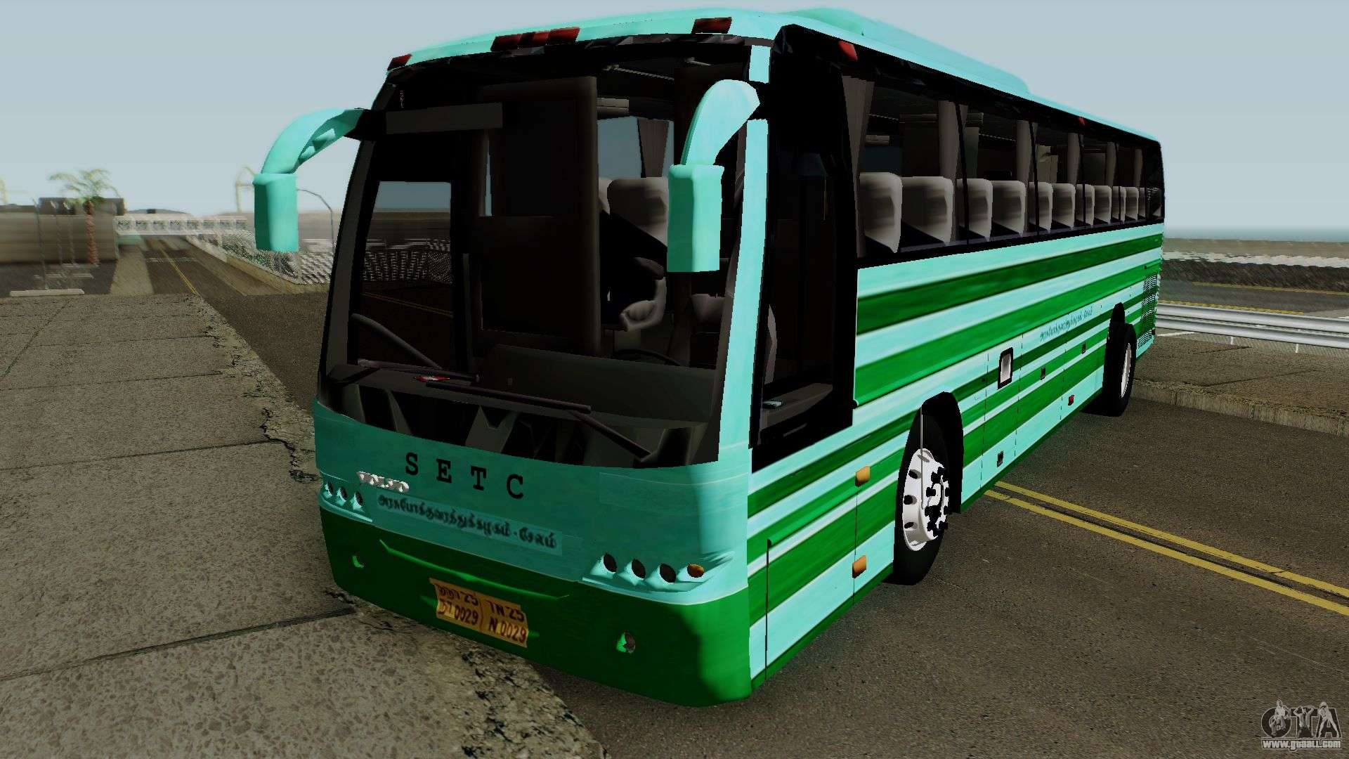 SETC VOLVO BUS For GTA San Andreas