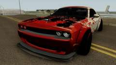 Dodge Hellcat Blood for GTA San Andreas