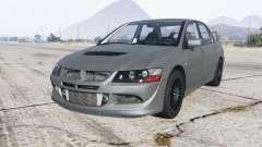 Mitsubishi Lancer Evolution VIII MR 2004 for GTA 5