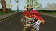 Skin Mc Cree Pack (Overwatch) for GTA San Andreas