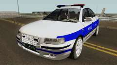 IKCO Samand Police LX v3 for GTA San Andreas
