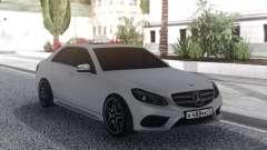 Mercedes-Benz E200 White for GTA San Andreas