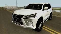 Lexus LX 570 HQ for GTA San Andreas