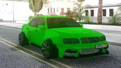 Nissan Cedric WideBody Green for GTA San Andreas