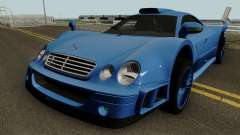 Mercedes Benz CLK GTR (C208) 1998 for GTA San Andreas