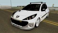 Peugeot 206 2012 for GTA San Andreas