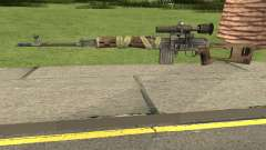Bad Company 2 Vietnam NDM Sniper for GTA San Andreas