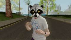 GTA Online Racoon Hipster for GTA San Andreas