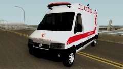 Fiat Ducato 2005 Turkish Ambulance for GTA San Andreas