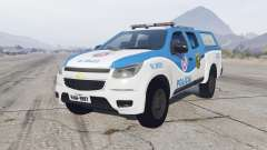 Chevrolet S10 Double Cab 2012 Policia for GTA 5